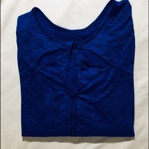 Catherine's Half Sleeve Navy Tunic 4X